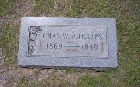 PHILLIPS, CHAS. W. - Union County, Arkansas | CHAS. W. PHILLIPS - Arkansas Gravestone Photos