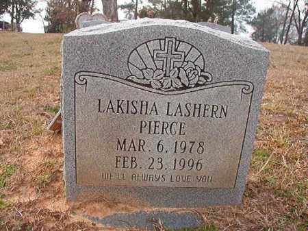 PIERCE, LAKISHA LASHERN - Union County, Arkansas | LAKISHA LASHERN PIERCE - Arkansas Gravestone Photos