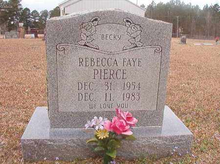 PIERCE, REBECCA FAYE - Union County, Arkansas | REBECCA FAYE PIERCE - Arkansas Gravestone Photos
