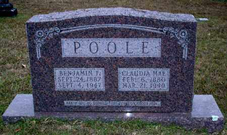 POOLE, CLAUDIA - Union County, Arkansas | CLAUDIA POOLE - Arkansas Gravestone Photos