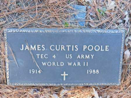 POOLE (VETERAN WWII), JAMES CURTIS - Union County, Arkansas | JAMES CURTIS POOLE (VETERAN WWII) - Arkansas Gravestone Photos