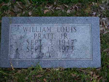 PRATT, JR., WILLIAM LOUIS - Union County, Arkansas | WILLIAM LOUIS PRATT, JR. - Arkansas Gravestone Photos