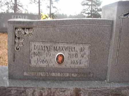 PRATT, JR, DUAINE MAXWELL - Union County, Arkansas | DUAINE MAXWELL PRATT, JR - Arkansas Gravestone Photos