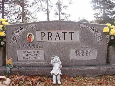 PRATT, SARAH BETH - Union County, Arkansas | SARAH BETH PRATT - Arkansas Gravestone Photos