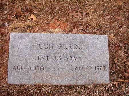PURDUE (VETERAN), HUGH - Union County, Arkansas | HUGH PURDUE (VETERAN) - Arkansas Gravestone Photos