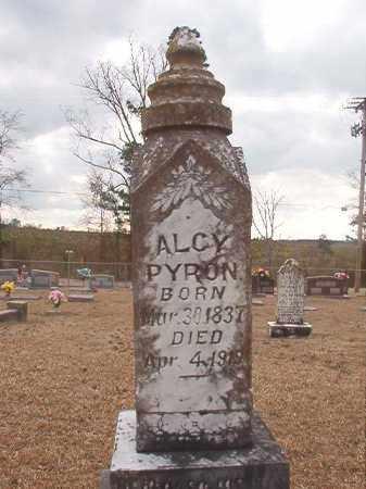 PYRON, ALCY - Union County, Arkansas | ALCY PYRON - Arkansas Gravestone Photos