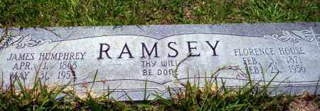 HOUSE RAMSEY, FLORENCE - Union County, Arkansas | FLORENCE HOUSE RAMSEY - Arkansas Gravestone Photos