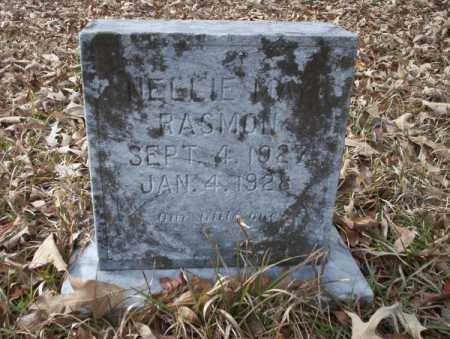 RASMON, NELLIE MAY - Union County, Arkansas | NELLIE MAY RASMON - Arkansas Gravestone Photos