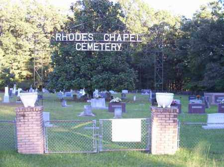 *RHODES CHAPEL CEMETERY,  - Union County, Arkansas |  *RHODES CHAPEL CEMETERY - Arkansas Gravestone Photos