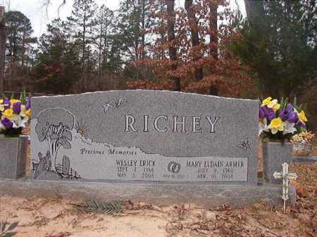 RICHEY, WESLEY ERICK - Union County, Arkansas | WESLEY ERICK RICHEY - Arkansas Gravestone Photos