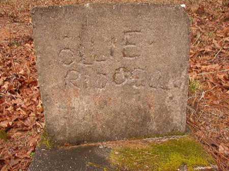 RIDGELL, OLLIE - Union County, Arkansas | OLLIE RIDGELL - Arkansas Gravestone Photos