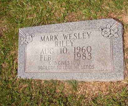 RILEY, MARK WESLEY - Union County, Arkansas | MARK WESLEY RILEY - Arkansas Gravestone Photos
