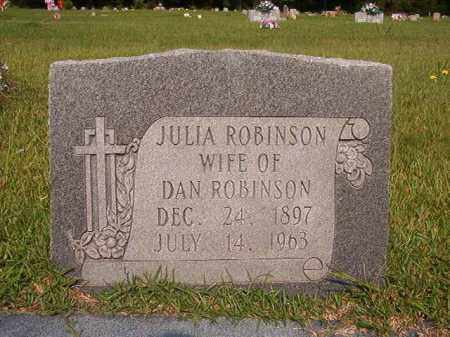 ROBINSON, JULIA - Union County, Arkansas | JULIA ROBINSON - Arkansas Gravestone Photos