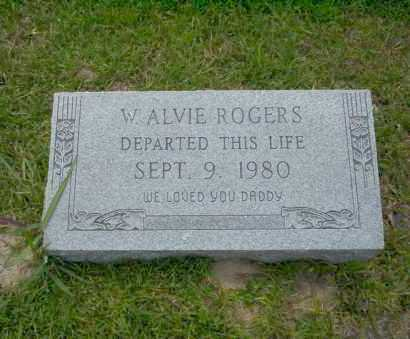 ROGERS, W. ALVIE - Union County, Arkansas | W. ALVIE ROGERS - Arkansas Gravestone Photos