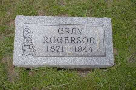 ROGERSON, GRAY - Union County, Arkansas | GRAY ROGERSON - Arkansas Gravestone Photos
