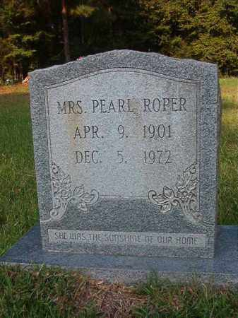 ROPER, PEARL - Union County, Arkansas | PEARL ROPER - Arkansas Gravestone Photos