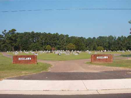 *ROSELAWN, CEMETERY - Union County, Arkansas | CEMETERY *ROSELAWN - Arkansas Gravestone Photos