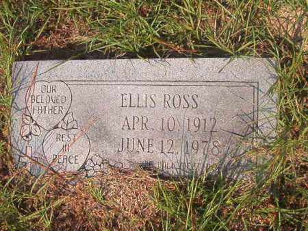 ROSS, ELLIS - Union County, Arkansas | ELLIS ROSS - Arkansas Gravestone Photos