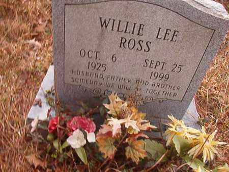 ROSS, WILLIE LEE - Union County, Arkansas | WILLIE LEE ROSS - Arkansas Gravestone Photos