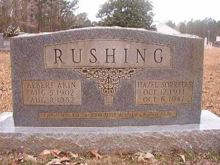 RUSHING, HAZEL - Union County, Arkansas | HAZEL RUSHING - Arkansas Gravestone Photos