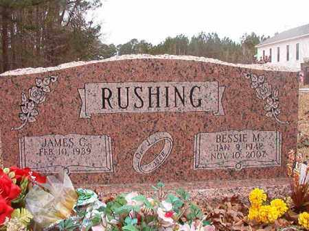 RUSHING, BESSIE M - Union County, Arkansas | BESSIE M RUSHING - Arkansas Gravestone Photos