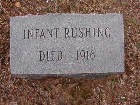 RUSHING, INFANT - Union County, Arkansas | INFANT RUSHING - Arkansas Gravestone Photos