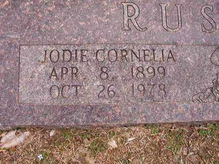 RUSHING, JODIE CORNELIA - Union County, Arkansas | JODIE CORNELIA RUSHING - Arkansas Gravestone Photos