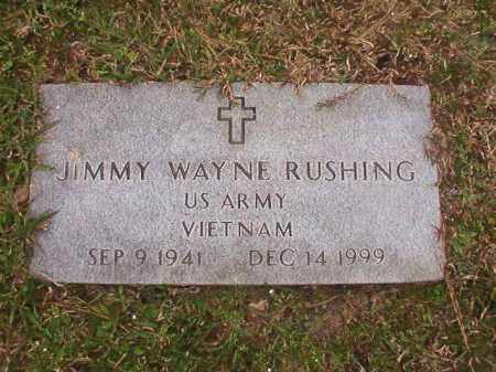 RUSHING (VETERAN VIET), JIMMY WAYNE - Union County, Arkansas | JIMMY WAYNE RUSHING (VETERAN VIET) - Arkansas Gravestone Photos
