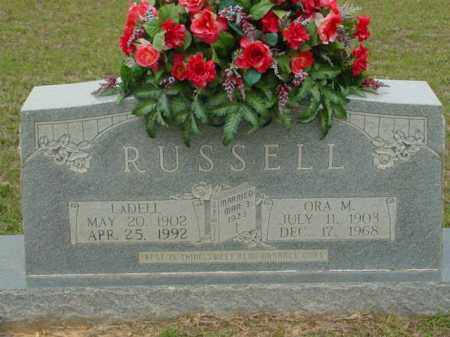 SEHON RUSSELL, ORA - Union County, Arkansas | ORA SEHON RUSSELL - Arkansas Gravestone Photos