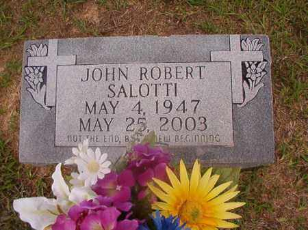 SALOTTI, JOHN ROBERT - Union County, Arkansas | JOHN ROBERT SALOTTI - Arkansas Gravestone Photos