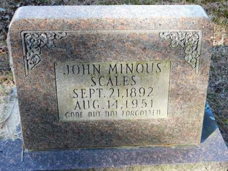 SCALES, JOHN MINOUS - Union County, Arkansas | JOHN MINOUS SCALES - Arkansas Gravestone Photos
