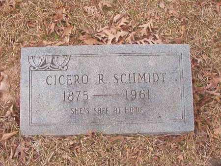 SCHMIDT, CICERO R - Union County, Arkansas   CICERO R SCHMIDT - Arkansas Gravestone Photos