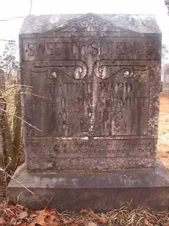 SCHMIDT, HATTIE - Union County, Arkansas | HATTIE SCHMIDT - Arkansas Gravestone Photos