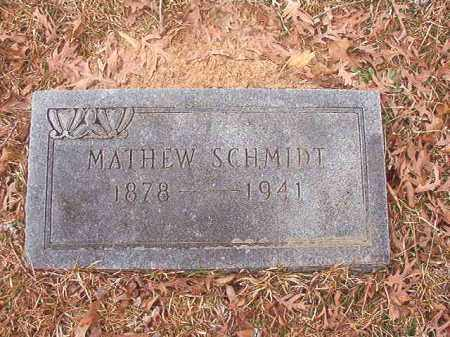 SCHMIDT, MATHEW - Union County, Arkansas | MATHEW SCHMIDT - Arkansas Gravestone Photos