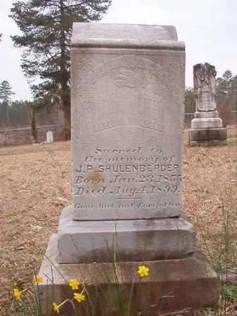 SCHULENBERGER, J P - Union County, Arkansas   J P SCHULENBERGER - Arkansas Gravestone Photos