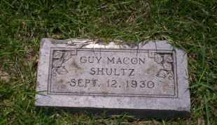 SCHULTZ, GUY MACON - Union County, Arkansas | GUY MACON SCHULTZ - Arkansas Gravestone Photos