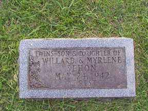 SEHON, GIRL - Union County, Arkansas | GIRL SEHON - Arkansas Gravestone Photos