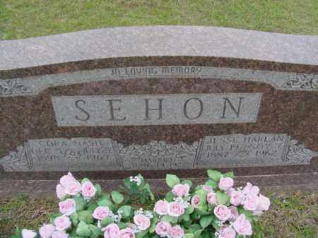 NASH SEHON, CORA - Union County, Arkansas | CORA NASH SEHON - Arkansas Gravestone Photos