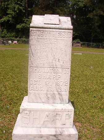 SHARP, REV. WATSON D - Union County, Arkansas | REV. WATSON D SHARP - Arkansas Gravestone Photos