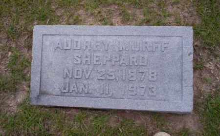 MURFF SHEPPARD, AUDREY - Union County, Arkansas | AUDREY MURFF SHEPPARD - Arkansas Gravestone Photos