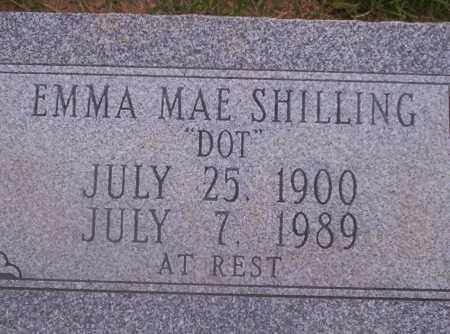 SHILLING, EMMA MAE - Union County, Arkansas | EMMA MAE SHILLING - Arkansas Gravestone Photos