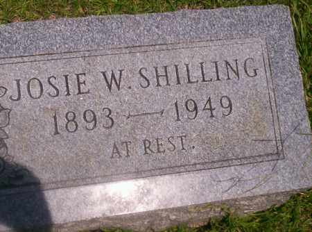 SHILLING, JOSIE W - Union County, Arkansas | JOSIE W SHILLING - Arkansas Gravestone Photos