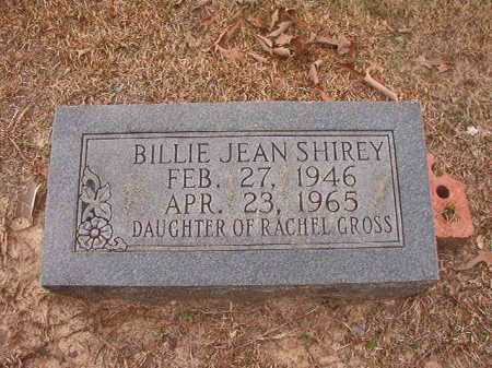 SHIREY, BILLIE JEAN - Union County, Arkansas | BILLIE JEAN SHIREY - Arkansas Gravestone Photos