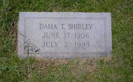 SHIRLEY, DAMA T - Union County, Arkansas | DAMA T SHIRLEY - Arkansas Gravestone Photos