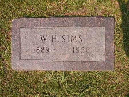 SIMS, W H - Union County, Arkansas | W H SIMS - Arkansas Gravestone Photos