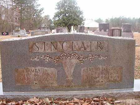 JERRY SINCLAIR, ALTO - Union County, Arkansas | ALTO JERRY SINCLAIR - Arkansas Gravestone Photos