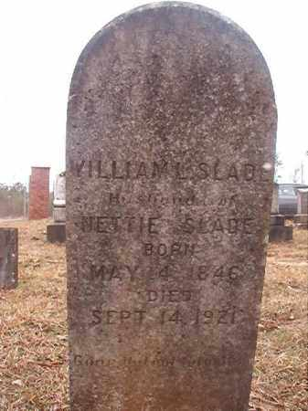 SLADE, WILLIAM L - Union County, Arkansas | WILLIAM L SLADE - Arkansas Gravestone Photos