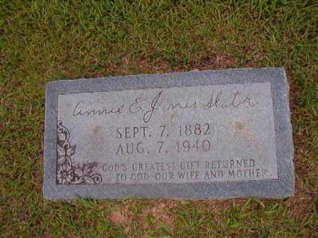SLATER, ANNIE E - Union County, Arkansas | ANNIE E SLATER - Arkansas Gravestone Photos