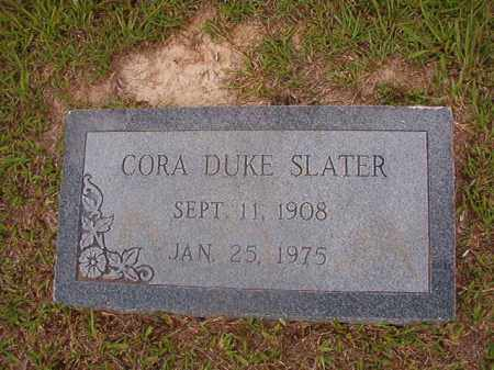 DUKE SLATER, CORA - Union County, Arkansas | CORA DUKE SLATER - Arkansas Gravestone Photos