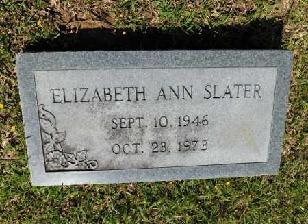 SLATER, ELIZABETH ANN - Union County, Arkansas | ELIZABETH ANN SLATER - Arkansas Gravestone Photos